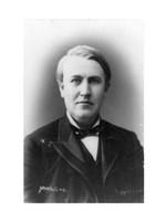 Thomas Edison Portrait Fine-Art Print