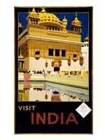 Visit India, travel poster, 1935 Fine-Art Print