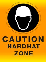 Safety Hard Hat Fine-Art Print