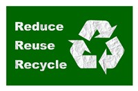 Reduce, Reuse, Recycle Fine-Art Print