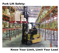 Fork Lift Safety Fine-Art Print