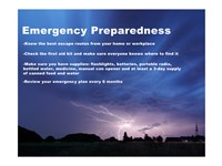 Emergency Preparedness Fine-Art Print