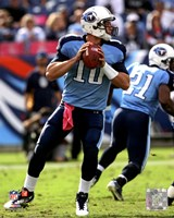 Jake Locker 2011 Action Fine-Art Print