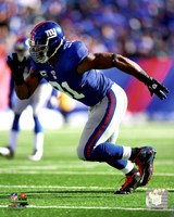 Justin Tuck 2011 Action Fine-Art Print
