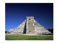 Pyramid, El Castillo, Chichen Itza Mayan, Yucatan, Mexico Fine-Art Print