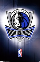 Mavericks - Logo 11 Wall Poster