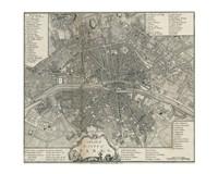 Plan Paris Stockdale Fine-Art Print