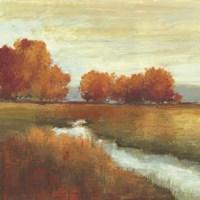 Orange Treescape Fine-Art Print