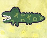 Croc -mini Fine-Art Print