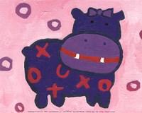 Hippo - mini Fine-Art Print