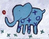 Elephant - mini Fine-Art Print