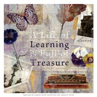 Learning Treasure - mini Fine-Art Print