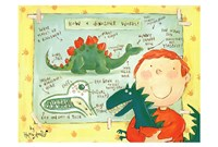 How a Dinosaur Works Framed Print