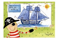 How a Pirate Ship Works Fine-Art Print