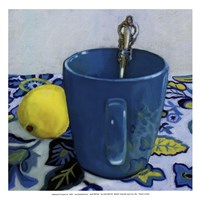 Lemon Cup - mini Fine-Art Print