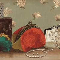 My Red Purse - mini Fine-Art Print