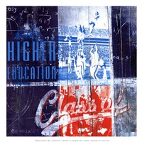 Higher Education - mini Fine-Art Print
