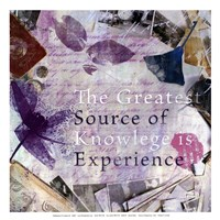 Source of Experience - mini Fine-Art Print