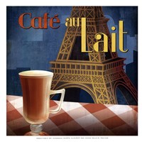 Cafe au Lait - mini Fine-Art Print