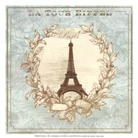 Tour de Eiffel - mini Fine-Art Print