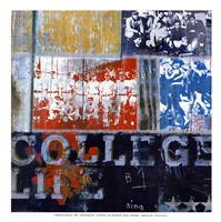 College Life - mini Fine-Art Print