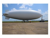 US Navy Coast Guard Blimp Fine-Art Print