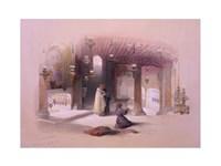 Shrine of the Nativity Bethlehem April 6th 1839 Fine-Art Print
