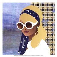 Scarf and Shades - mini Fine-Art Print