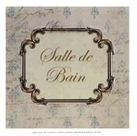 Bain Sign I - mini Fine-Art Print