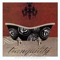 Baroque Bath I - mini Fine-Art Print