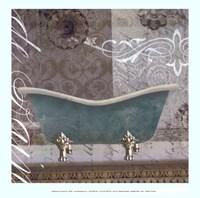 Medallion Bath I - mini Fine-Art Print
