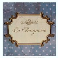 Bain Sign III - mini Fine-Art Print
