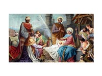 Adoration of the Shepherds and the Magi Fine-Art Print