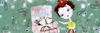 Little Treasure brunette - mini Fine-Art Print