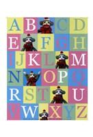 Alphabet Theory - mini Fine-Art Print