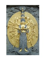 Jiuhuashan Bodhisattva Fine-Art Print