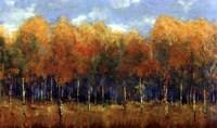 Violet Landscape Fine-Art Print