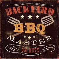 Backyard BBQ Fine-Art Print