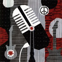 Rock n' Roll Mic Fine-Art Print