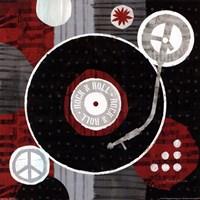 Rock n' Roll Albumn Fine-Art Print