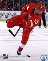 Pavel Datsyuk 2011-12 Action Fine-Art Print