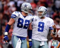 Jason Witten & Tony Romo 2011 Action Fine-Art Print