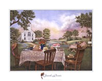 Church Picnic Fine-Art Print