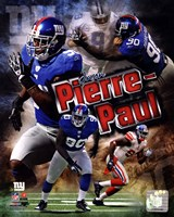 Jason Pierre-Paul 2011 Portrait Plus Fine-Art Print
