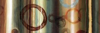 Ombre Circles II - mini Fine-Art Print