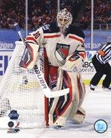 Henrik Lundqvist 2012 NHL Winter Classic Action Fine-Art Print