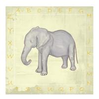 Elephant Alphabet Fine-Art Print