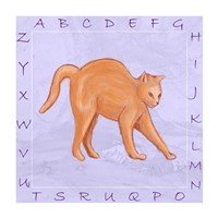 Cat Alphabet Fine-Art Print