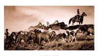 Gathering the Herd Fine-Art Print