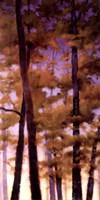 Purple Wood II Fine-Art Print